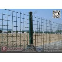 China Welded Roll Mesh Fencing | 50X50mm square hole | RAL6005 Green PVC coated wholesale
