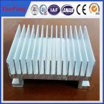 China Custom Aluminium Cooler Extrusions, aluminum profiles used in radiator wholesale