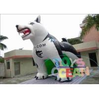 China Sport Portable White Advertising Inflatables Dog Tunnel For Sport Event wholesale