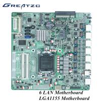 China 2 COm 2 DDR3L Wifi 3G LGA 1155 Socket Motherboard For Industrial Computer wholesale