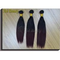 China Brazilian Straight Hair Weave Bundles 1 Piece Only Can Buy Non-remy Human Hair wholesale