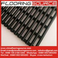 China Heavy duty PVC tube matting dry quickly resist slip changing room around pool shower room matting wholesale