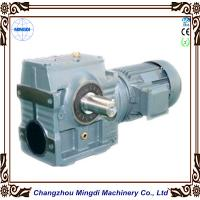 China Mingdi Solid / Hollow Shaft Helical Worm Reduction Gearbox With AC Motor wholesale