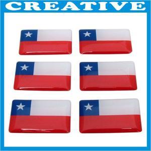 China flag epoxy logo sticker wholesale
