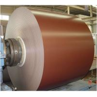 China Prepainted Color Coated Aluminum Coil Thickness 0.05mm - 3.0mm Aluminum Roofing Coil wholesale