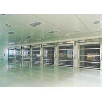 Wholesale Energy Savings Roll up Industrial High Speed Door Outside High-wind Area from china suppliers