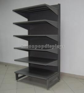 China Metal Retail Gondola Shelving Freestanding Department Store Display Racks 6-Layer wholesale
