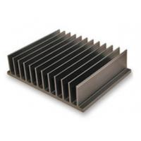China Bright Black Aluminum Heatsink Extrusion Profiles / Electronic Radiateor wholesale