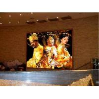 China Custom Full Color 4mm LED Stage Screen For Indoor , LED Video Screen 32 × 32 wholesale