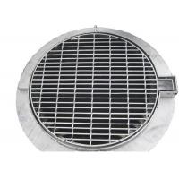 China SS Storm Water Galvanised Drainage Grates Welded Flush Top Steel Material wholesale
