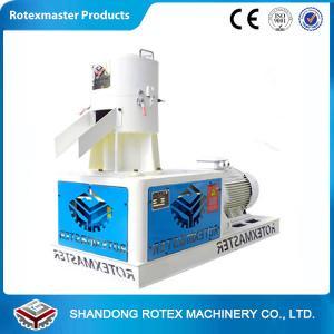 China 400-500 KG Per Hour Flat Die Soft Wood Sawdust Pellet Machine wholesale