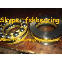 China 51317 51318 51320 Thrust Ball Bearings for Crane Hook with Steel Cage , Brass Cage wholesale