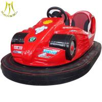 China Hansel Chinese bumper car factory electric entertainment bumper cars wholesale