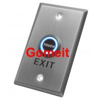 China Stainless Steel Door Exit Button Long Type Touchable wholesale