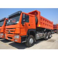 15 Cubic Meter Heavy Dump Truck 40 Ton Payload Capacity Three Axles