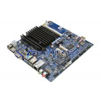 China J1900 CPU mini itx fanless motherboard LVDS HDMI VGA , 2 COM Industrial Boards wholesale