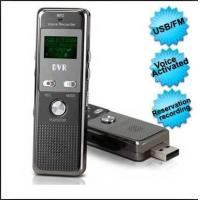 China USB Retractable Sound Activation Voice Recorder With Password Setting Function 4GB on sale