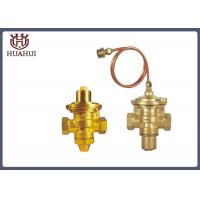 China Brass Screw Flow Balanced Control Valve DN20 PN16 ISO9001 Certification wholesale