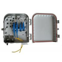 China Wall and pole mountable FTTH Solution , High impact plastic FTTH Distribution Box wholesale