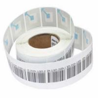 China 8.2MHz Anti Theft Supermarket RF Soft Label For Clothing 45 * 10.8mm wholesale