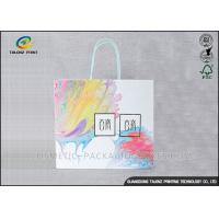 China Mobile Phone Paper Shopping Bags High Bursting Resistance For Holiday Promotions wholesale