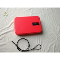 China Red Powder Coated Personal Gun Safe GV25RD Strong Combination Lock System wholesale