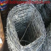 Buy cheap 12# galvanized military barbed wire, barbed wire length per roll/barbed wire roll price fence/barbed wire factory price from wholesalers