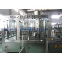 China 10000BPH Bottled Water Filling Machine With High Speed Large Gravity Flow Valve wholesale