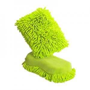 China Car Cleaning Microfiber Cloths Sponge , Microfiber Polishing Cloth on sale