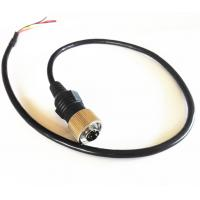 China Commercial Vehicle Backup Camera Extension Cable , 6 PIN MiniDin Extension Cables wholesale