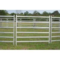 China Portable Corral Panels For Cattle Permanent Yards Heavy Duty  Cattle Yards wholesale