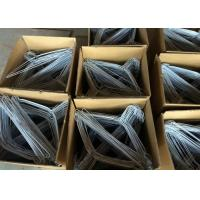 China Powder Coated Metal Wire Hanger 16 Inches 2.2mm Wire Coat Hanger For Laundry wholesale