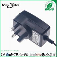 China wall mount power adapter external 12V 2A power adapter for LED CCTV camera security system Led lamp wholesale