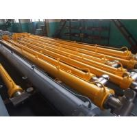 China Hang Upside Down Large Hydraulic Cylinder Long Stroke Dump Truck Hoist Cylinder wholesale