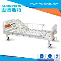 China ISO CE Certificated One Crank Electric Patient Bed , Falling Protection Backrest Lifting 0-80° wholesale