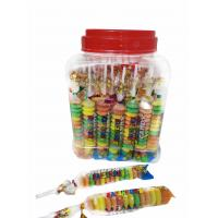 China Colorful and Sweet Multi Fruit Flavor Roll Healthy Hard Candy in Jars wholesale