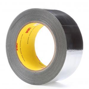 China 3M 363 / 3M 363L Glass Cloth Tape High Temperature Tape , Aluminum Foil Tape 0.19MM Silicone Transparent Adhesive wholesale