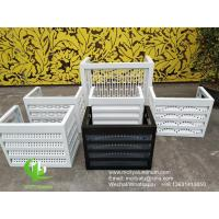 China Metal Facade Air Conditioning Unit Covers Outside Cladding Bending wholesale