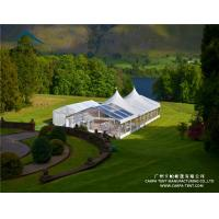 China Customizable Outdoor Event Tents / Flame Retardant Waterproof PVC Marquee wholesale