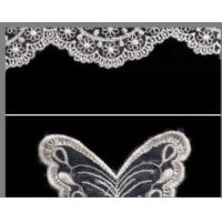 China 100% Polyester Non-Elastic Jacquard Lace Fabrics for Dress & Clothes wholesale