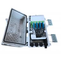 Buy cheap GFS-8X-1,fiber distribution box,splitter box,Pre-connectionMax Capacity 16F, from wholesalers