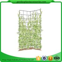 """China Two Panel Folding Screen Trellis , Garden Trellis Plant Support 35-1/2"""" W x 58"""" H overall  Powder-coated steel wholesale"""