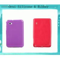 China Shenzhen dust-free rubber silicon bake case for tablet pc or ipad wholesale