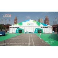 China Waterproof 30m Width Clear Span PVC And Aluminum Marquee For Exhibition wholesale