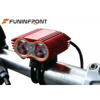 China 2000 Lumens CREE XML T6 Led Bicycle Front Lights for Moutain Bike wholesale