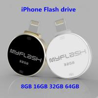 Wholesale 8GB-16GB-32GB-64GB OTG USB3.0 Flash Drive/Pen drive Memory Stick i Flash Drive for iphone 6s /6/5s/ipad Android PC from china suppliers