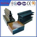 China Industrial aluminium windows profile manufacture aluminium price per kg wholesale