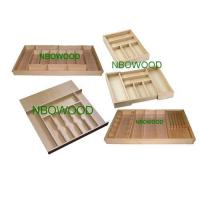 China Wooden cutlery tray on sale