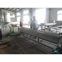 China 1000kg/h Recycled Plastic Granules Machine Noodle Cutting Pelletizer of PP / PE wholesale
