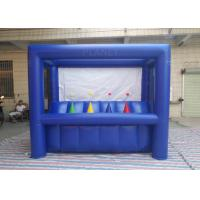 China Dark Blue Hoverball Archery Inflatable Game 3.1 X 1.5 X 2.4 M Fit Entertainment on sale